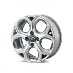 Cerchio in lega leggera Valonga Pyrit Grey 16'' Originali Citroen C3(A51), DS3