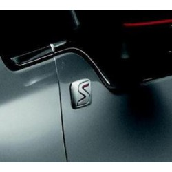 Serie due badge laterali porte anteriori Peugeot