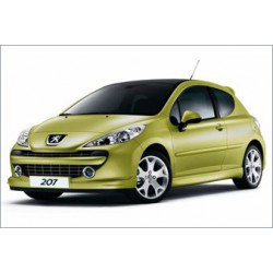 Kit carrozzeria con paraurti ant e post Peugeot 207